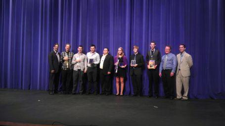 Wręczenie nagród Międzynarodowego Konkursu odbywającego się w ramach seminarium