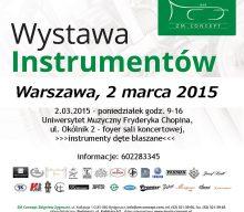 Wystawa instrumentów dętych blaszanych firmy Yamaha w Warszawie