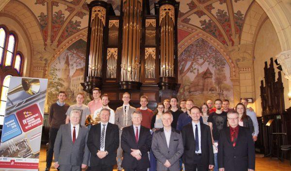 Jury i Laureaci IV Ogólnopolskiego Konkursu Instrumentów Dętych Blaszanych, Katowice 2016